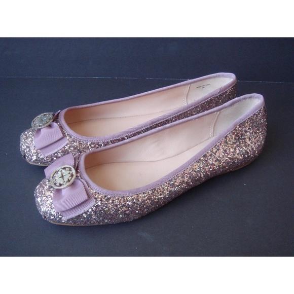 d71d6ac3cb49 kate spade Shoes - NWOB Kate Spade Fontana Pink Glitter Ballet Flat